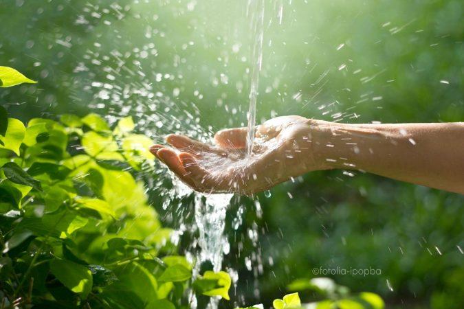 Natürlich energetisiertes Wasser, wie geht das?